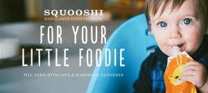 Squooshi Refillable Baby Food Pouch Foodie